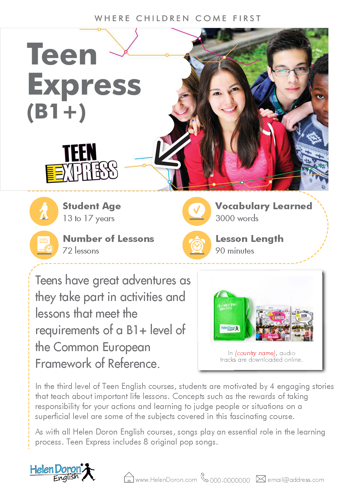 Download - Teen Express (B1+)‎